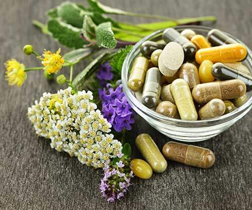 naturopathic supplements and pills