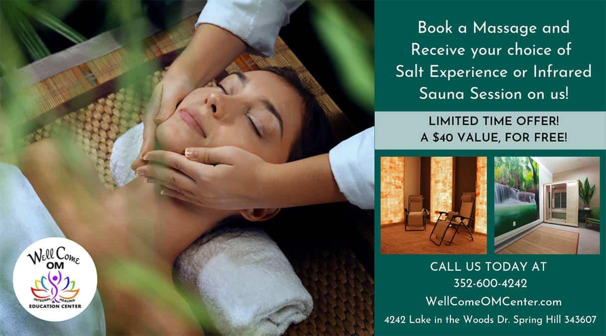 October Massage Special
