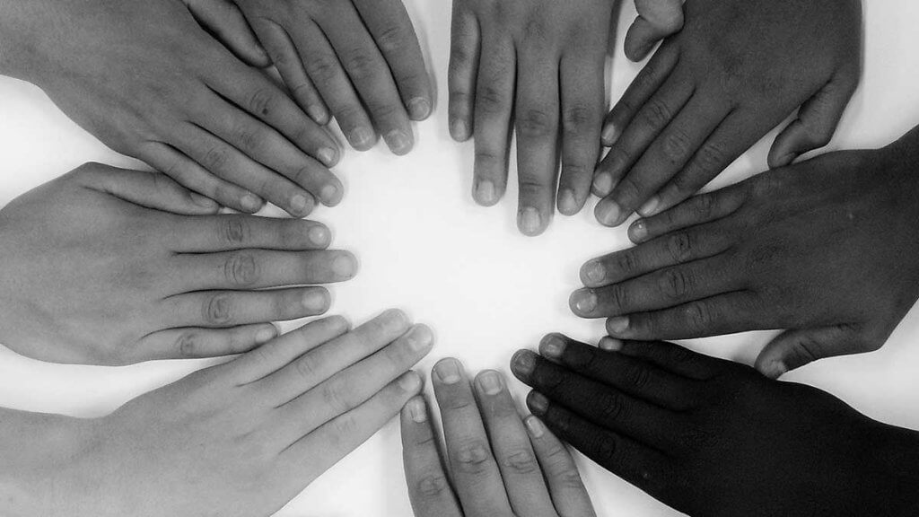 unified hands of all races