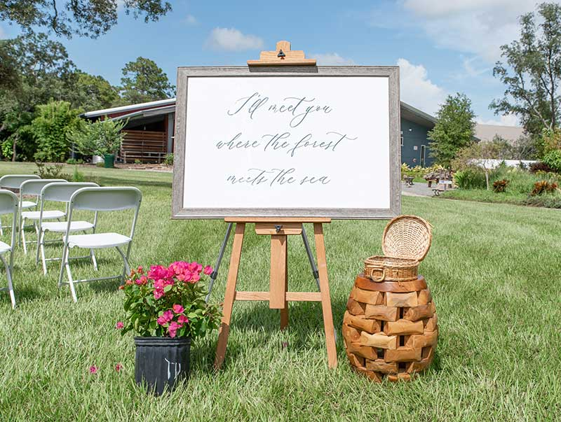 outdoor wedding venue hernando county fl